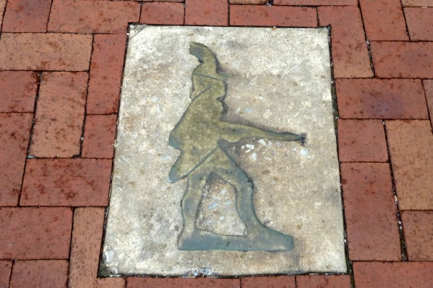 Little Heiskell (German Soldier) Weathervane, symbol of Hagerstown
